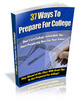 Are you ready for college - Prepare your future